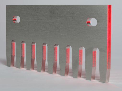 laser cut alloy