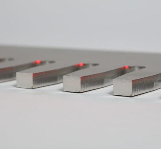 laser cut component