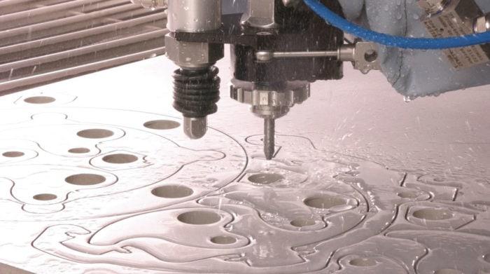 water jet tight tolerances