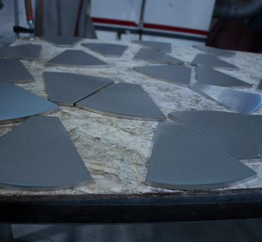 polished plates