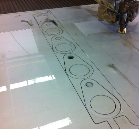 water jet processing