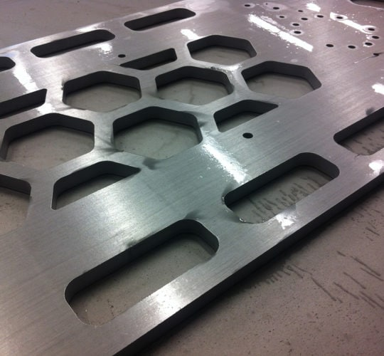 water jet component
