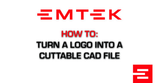 Turn a Logo into a CAD File