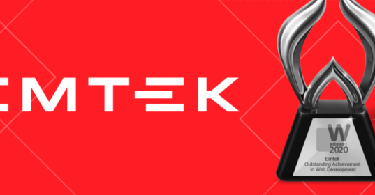 Emtek wins 2020 WebAward!